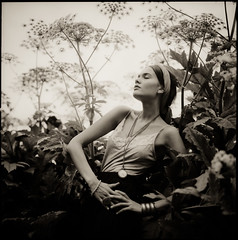 Alina XI (Andreas Ulvo) Tags: portrait film fashion analog vintage outdoor hasselblad analogue planar 80mm