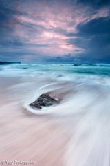 Rushing Sea (-yury-) Tags: ocean sea seascape storm beach water rock sunrise canon landscape sydney australia rush nsw monavale