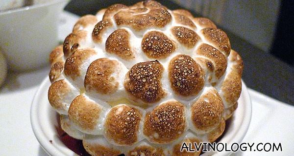 1 Caramel Baked Alaska