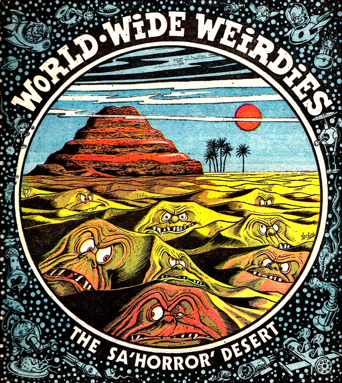 Ken Reid - World Wide Weirdies 39