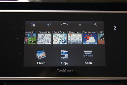 HP ePrinter Review - Apps