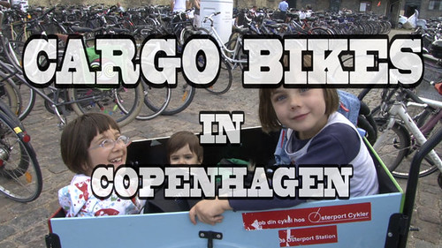 Copenhagen Cargo Bikes on Vimeo by Streetfilms by oo Felix oo
