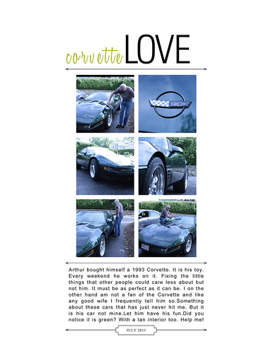 Corvette Love by jane8760