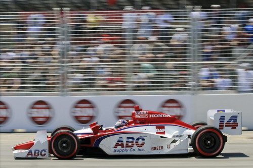 Vitor Meira, qualifying, Honda Indy Toronto 2011