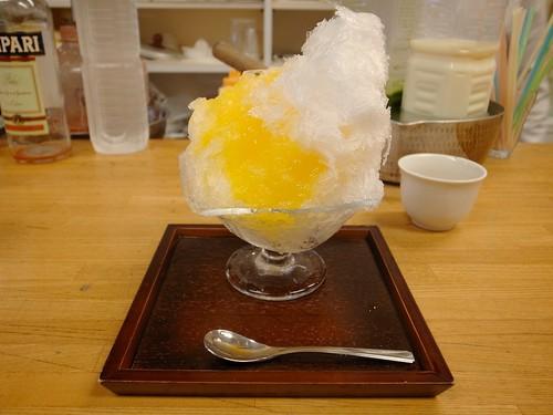 甘夏かき氷