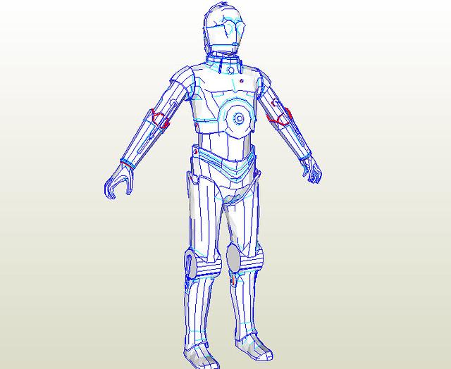 Stormtrooper pepakura files download