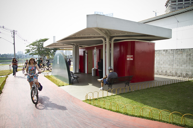 Sao Paolo Bike Facilities - Bathroom and Water
