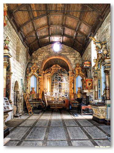 Interior da Igreja de Santa Maria dos Anjos (matriz de Valença) by VRfoto