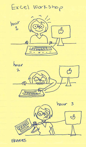 work doodles