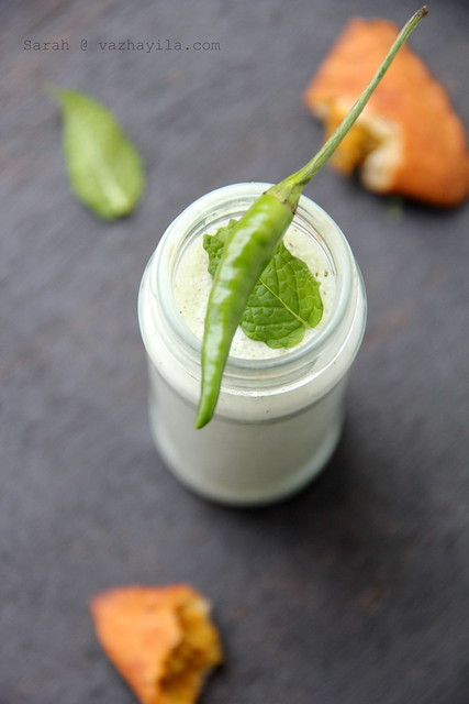 Spicy Minty lassi 1