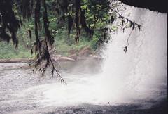 Behind the power (IssacDahms) Tags: water oregon river fun hiking adventure waterfalls cave scottsmills