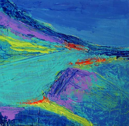 Lochranza July 2011 by Roberta MacRae Artist in the Landscape
