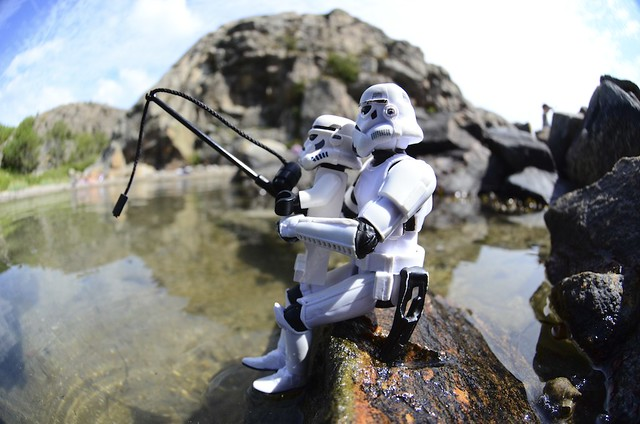 Out fishing for droids?