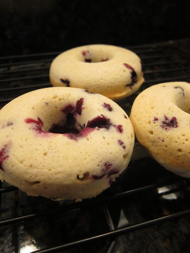 Blueberry Lime Donuts