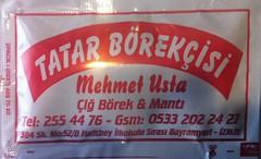 Tatar Börekçisi Mehmet Usta