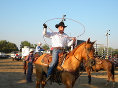(Lo Winslow) Tags: horse cowboy ride cattle rodeo steer calf rider