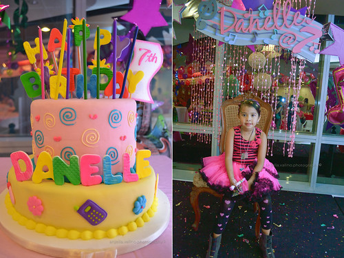 Danelle's 7th Birthday- Her Cake by anjellavalino