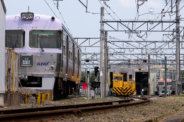 電鉄井の頭線3000系クハ3719とクハ3717