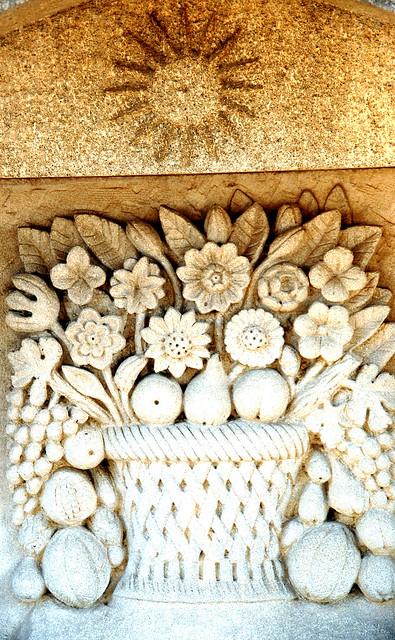 Friedhof Les-Baux-de-Provence Impressionen