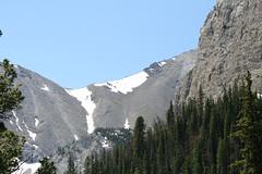 036 (frleo) Tags: mountains outdoors montana highland mountainlake hiddenlake bobmarshallwilderness ourlake montanaoutdoors julysnow