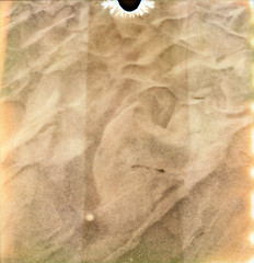 sand (lawatt) Tags: film beach polaroid sand pointreyes slr680 ff kehoe theimpossibleproject px680