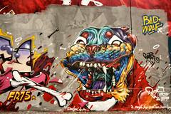 Duza (dprezat) Tags: street urban paris art collage painting stencil tag graf peinture aerosol bombe ratp pochoir ruedespyrnes duza ruedelagny sonyalpha700 entrepotratp