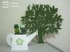 KIT VERDE (Ateliê Juliana Cristina) Tags: cristina tulipas bebe juliana em mdf cesta tecido atelie cachepo