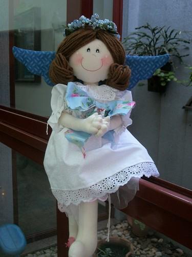 Anja Ana Clara (nome de minhas netinhas) by Rosete Bonecas de Pano