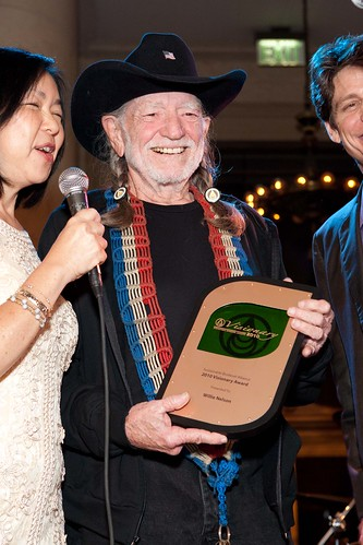 Willie Nelson at the Bently Reserve
