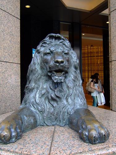 銀座 三越ライオン