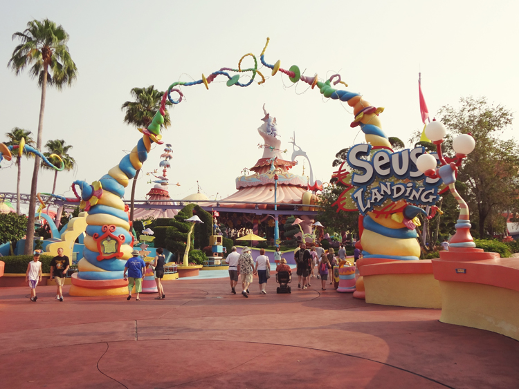 Suess Landing Gate @ Islands of Adventure | Orlando, Florida