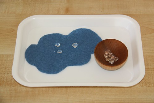 Counting Raindrops Activity (Photo from Counting Coconuts)