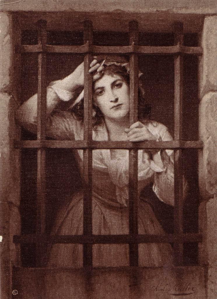 Charles Louis Muller, Charlotte Corday en prison