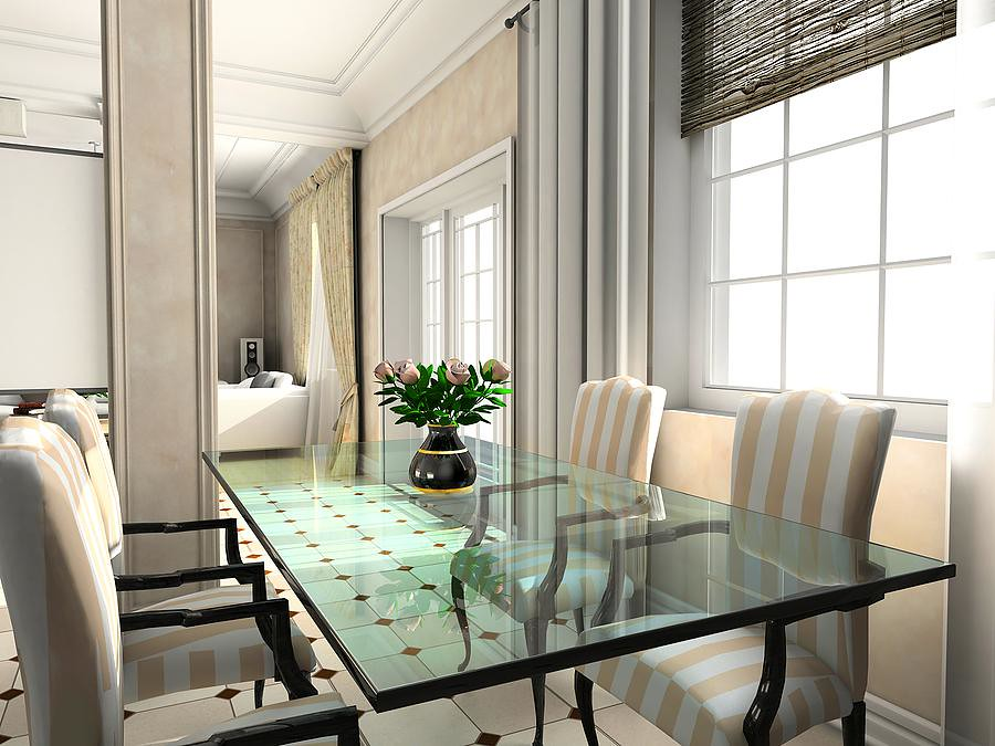 Design of classic interior.