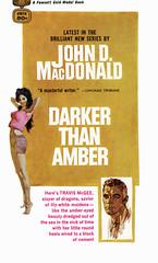 Darker Than Amber (McClaverty) Tags: mystery illustration paperback crime murder suspense travismcgee johndmacdonald ronlesser