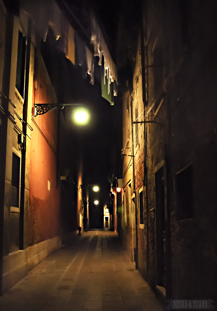 Late Night Laundry - Venice, Italy