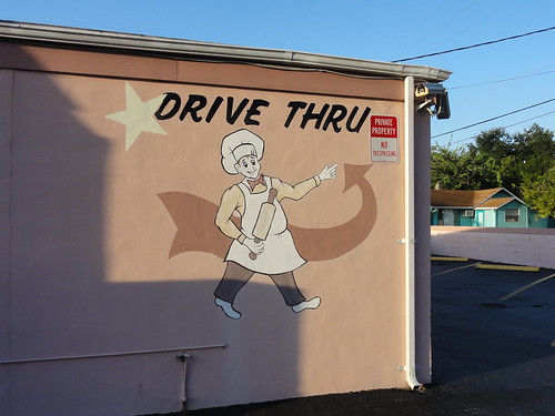 A bakery with a drive thru