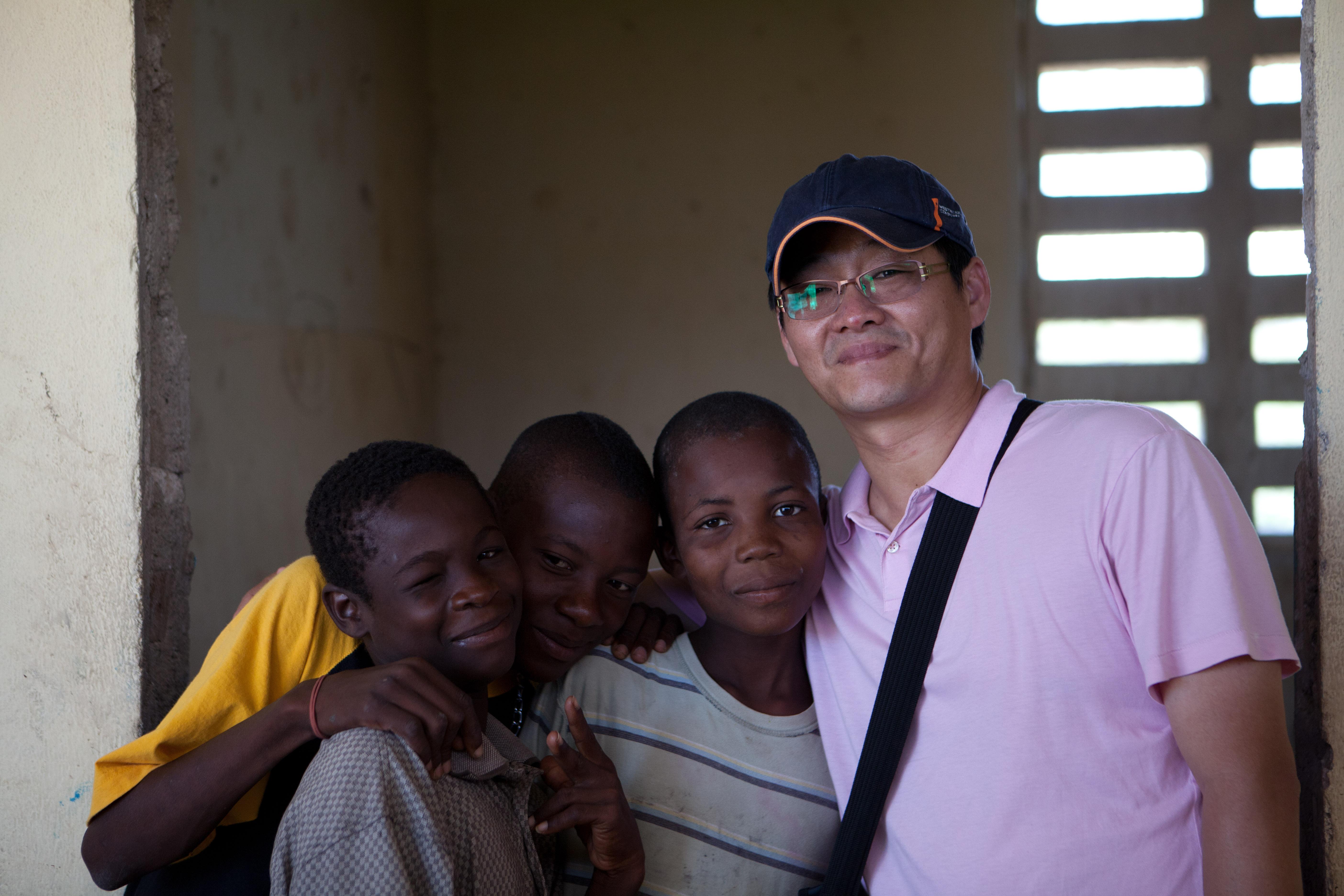 2011 아이티단기선교 어린이사역