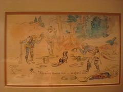 Charles M. Russell Skunk Illustration (wildsheepchase) Tags: helenamontana cmrussell charlesmrussell