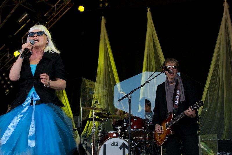 Blondie @ Splendour Festival 2011