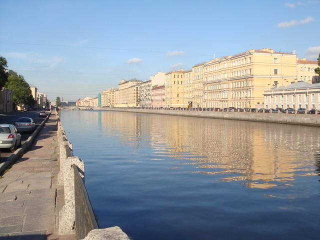 Река Фонтанка // Fontanka river