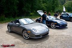 Porsche 911 (997) C4S Cab and Cayman R
