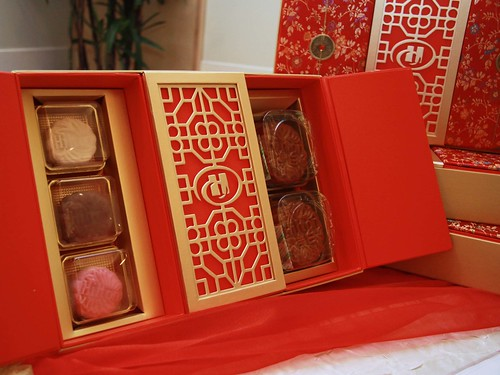 Hilton's Red & Gold Mooncake Box 2011
