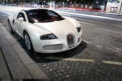 Bugatti Veyron Grand Sport (Tex Mex (alexandre-besancon.com)) Tags: red summer white paris france car leather sport al interior wheels champs grand arab saudi pearl thani rims alexandre bugatti elysees supercar besancon nasser qatar veyron chromed 2011 theeb wwwalexandrebesanconcom