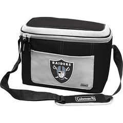 Oakland Raiders Coleman 12 Pack/Can Cooler Bag