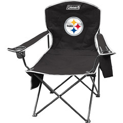 Pittsburgh Steelers Tailgate & Camping Cooler Chair