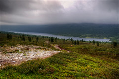 Grvelsjn (johanbe) Tags: lake nature nikon day cloudy hiking dalarna idre hdr sj grvelsjn d90 nikond90
