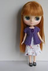 Purple Cardi