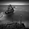 Symbols (~ superboo ~ [busy busy]) Tags: ocean sanfrancisco strange rock dark sticks moody pacific alien landsend sutrobaths brooding symbols turbulent maxxsmart