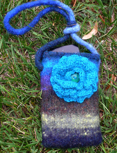 No-Seaming Crocheted Flower